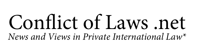 Conflict of Laws header image