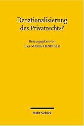 Denationalization of Private Law